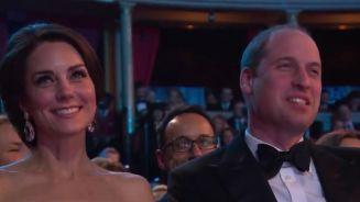 Etwa verlaufen? Kate und William bei den Bafta-Awards