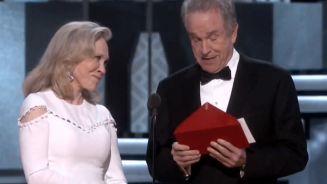 Panne bei Oscars: Falscher Gewinnerfilm gekürt