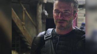 Hinter den Kulissen: Beckham erntet Spott für Filmrolle