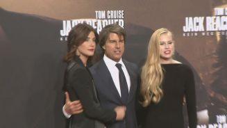Flirtendes Arbeitstier: Tom Cruise besucht Berlin