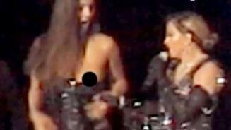 Geht's noch? Madonna entblößt Brust einer 17-Jährigen