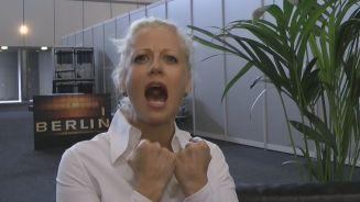 Backstage: Barbara Schöneberger trällert wie Helene